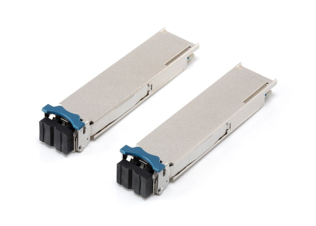 40gbase-lr4 SMF QSFP + Optical Transceiver 1290nm 1330nm For 40G Infiniband