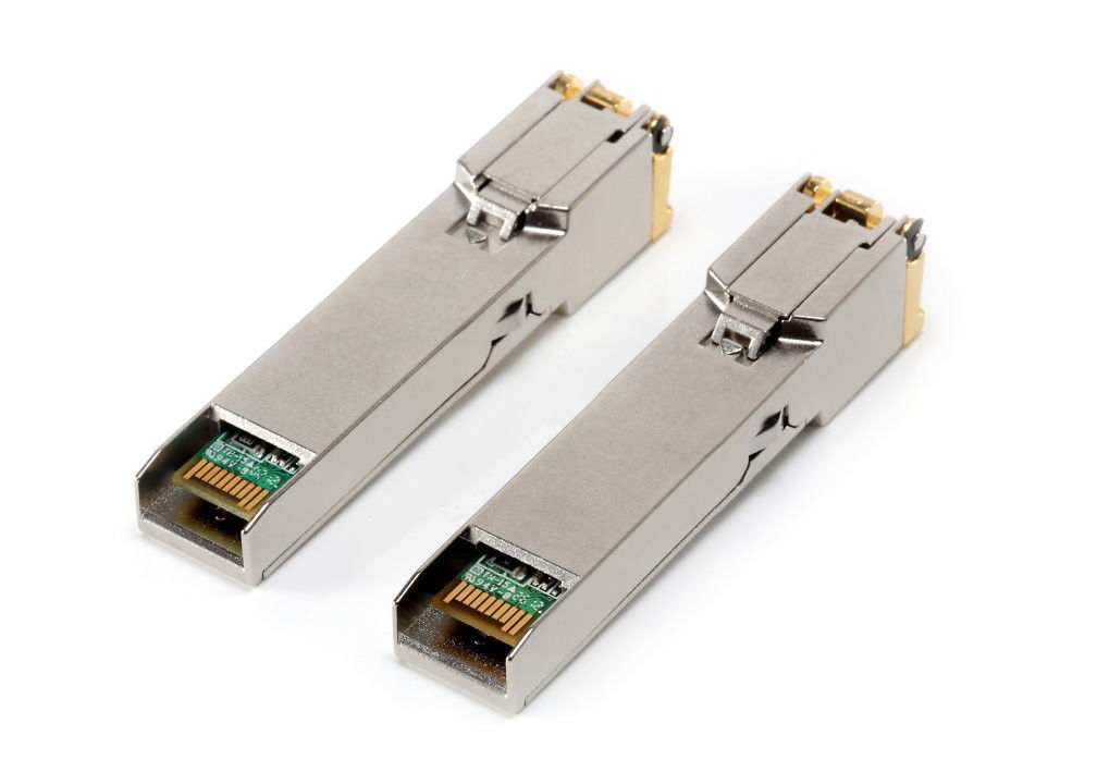 100M 1.25G SFP Optical Transceiver for RJ-45 Connector Gigabit Ethernet