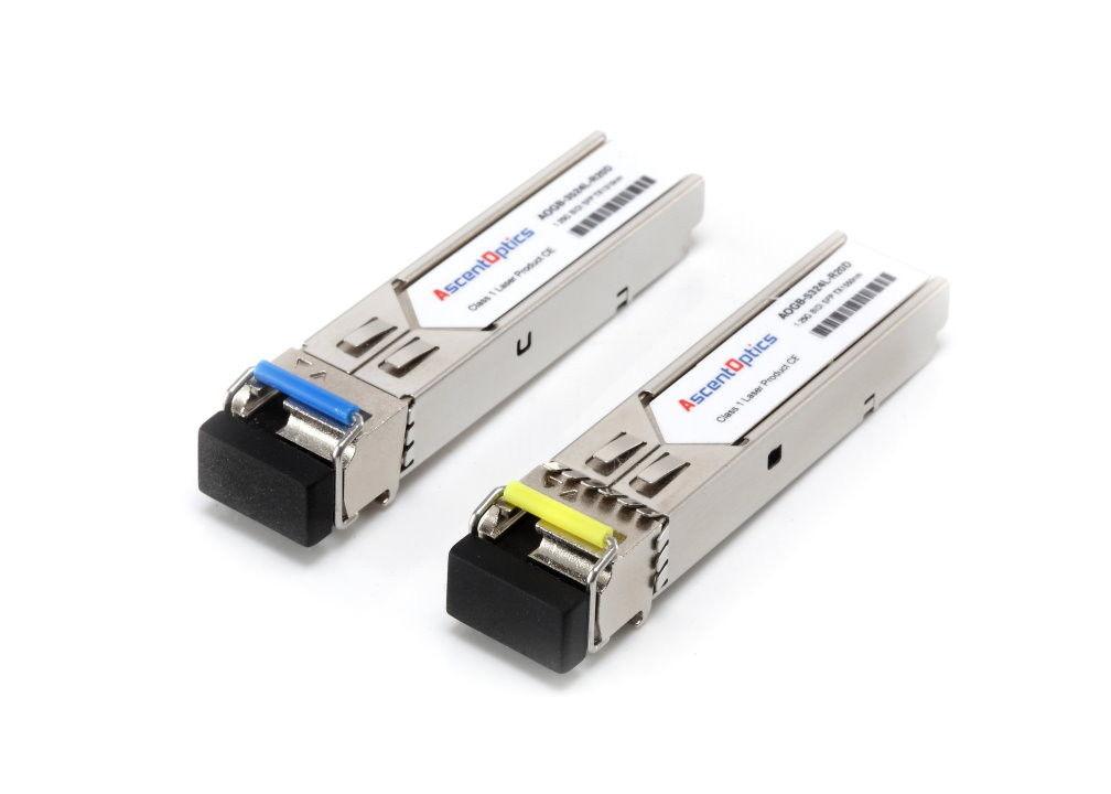 J9143B//J9142B HPE Compatible 1.25G 1310nm//1490nm BiDi 10km Transceiver