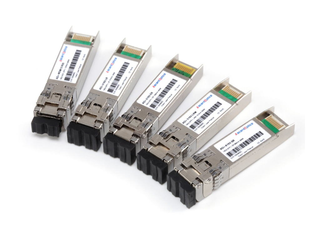 RX 10G/ps BIDI WDM SFP + Optical Transceiver With LC Connector