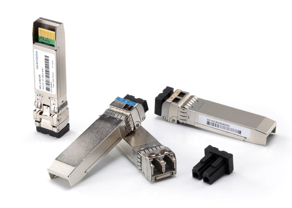 SMF CWDM 10G/ps SFP+ Optical Transceiver 1470nm 1490nm 80KM With LC Connector