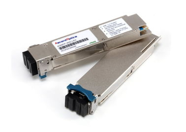 Hot-Pluggable SMF QSFP + Optical Transceiver 1270nm 10KM 40G/ps For 40 GE