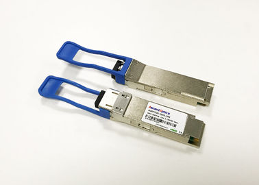 Compact SMF 10Km CWDM QSFP28 Optical Transceiver 100G / ps AQSFP -100G-LR4