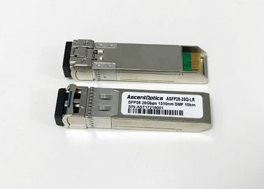 Compatible Cisco LC SFP28 Transceiver , LR fiber optic transceiver module