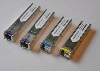 ONU GPON Transceiver , SFP Fiber Optic Transceiver Module TX 1.25G / RX 2.5G 20KM